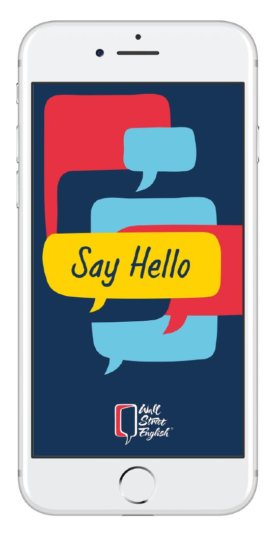 App Say Hello para aprender inglés 1