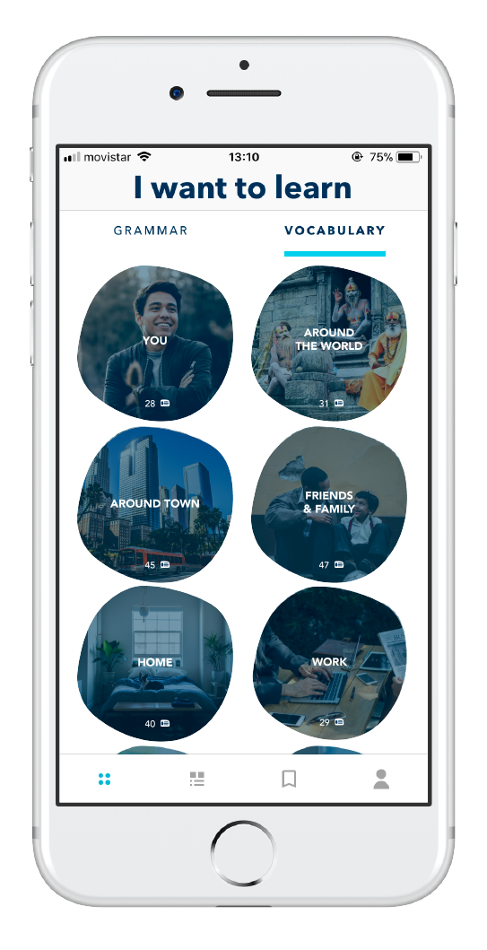 App Say Hello para aprender inglés 2