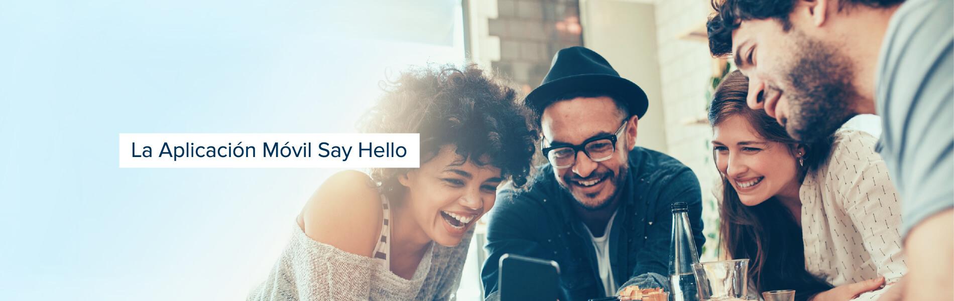 Aprende inglés online con la aplicación móvil Say Hello